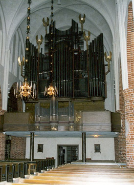 Den gamla orgeln / The previous organ / Die alte Orgel / L'orgue ancien